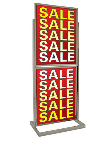 """Two Tier 22"""" x 28"""" Poster Stand 