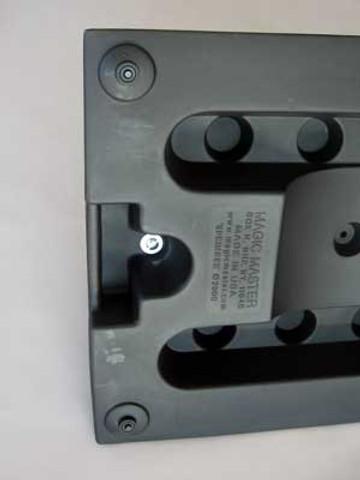 Springer Deluxe Message Board Sidewalk Sign | Black or White