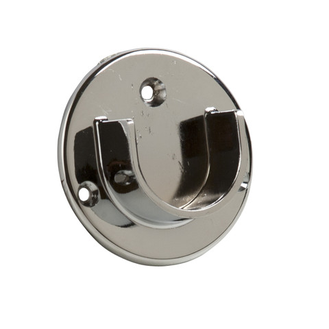 "Open Flange For 1-1/4"" Round Tubing  Hangrail Wall-mount Bracket"