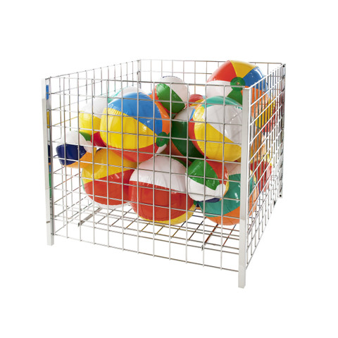 "36"" Square Grid Wire Dump Bin 