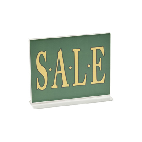 "3.5""H x 5.5""W Double Sided Acrylic Countertop Sign Holder 