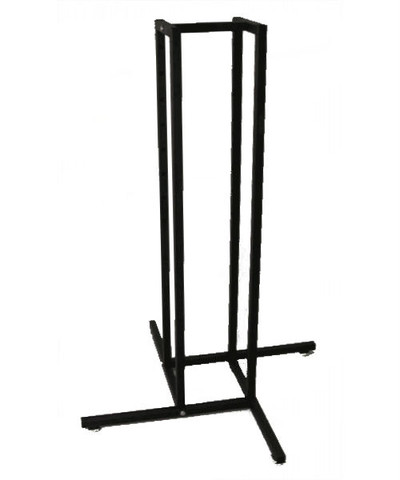 """1"""" Square Tubing 4 Way Clothing Rack Base Only"""