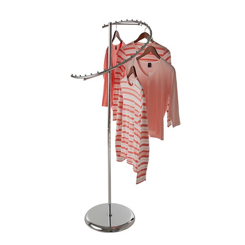Spiral Clothing Rack
