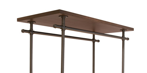 Pipeline Top for Double Rail Rolling Ballet Clothing Display Rack