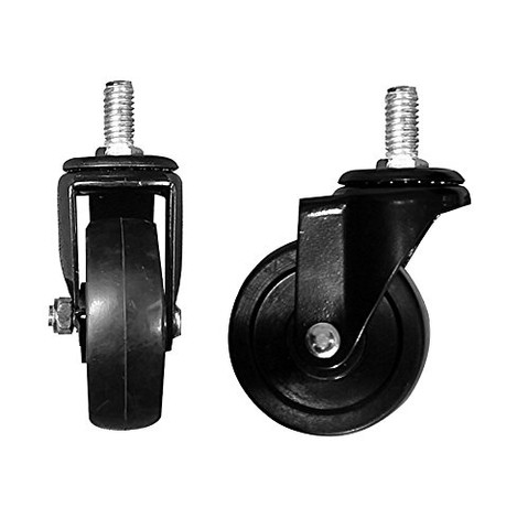 """3"""" Casters WITHOUT Brakes 