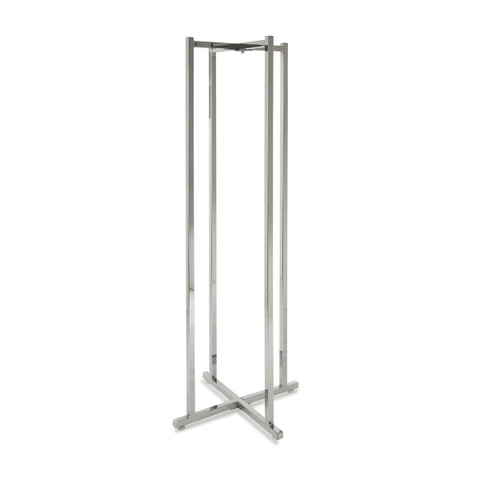 """4 Way Folding Lingerie Rack with 16 Round 12"""" L Arms 