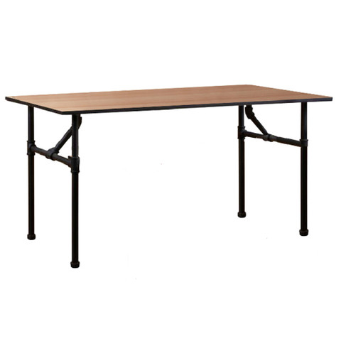 Large Pipe Nesting Display Table | MATTE BLACK