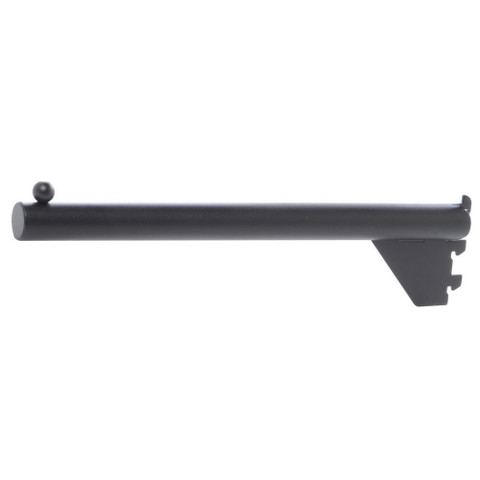 "12"" Straight Display Arm For MATT BLACK Pipeline Wall Display"