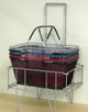 Wire Shopping Baskets BLACK | Product Display Soltuions