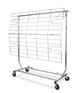 Screen For Single Rail collapsible Clothing Rack