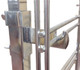 Gridwall Mounting Brackets For Double Rail Racks