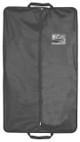 "40"" Heavy Duty Travel Vinyl Zippered Suit Cover BLACK"