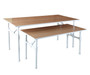 Pipeline Large Nesting Table | MATTE WHITE