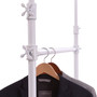 Add-On Rail For 41 GREY Pipe Clothing Rack  Gloss White