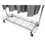 Shelf For Single Rail Folding Clothing Rack