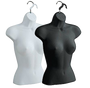 Female Upper Torso Hanging Form | Black or White