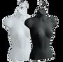 Female Upper Torso Hanging Form | Black or White