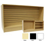 6ft Wrap Counter Stand with Slatwall Front