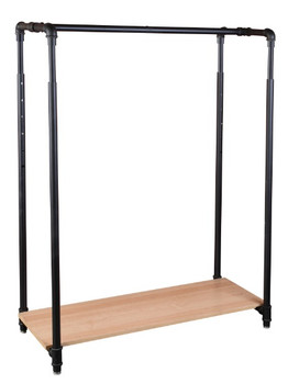 42 Quot Pipe Clothing Rack With Bottom Shelf Product Display
