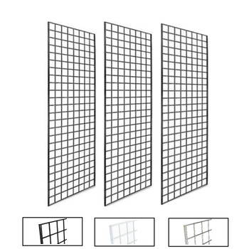 2 X 5 Gridwall Panels Product Display Solution