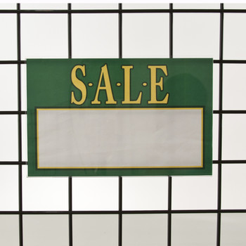 7 Quot H X 11 Quot W Gridwall Acrylic Sign Holder Product Display