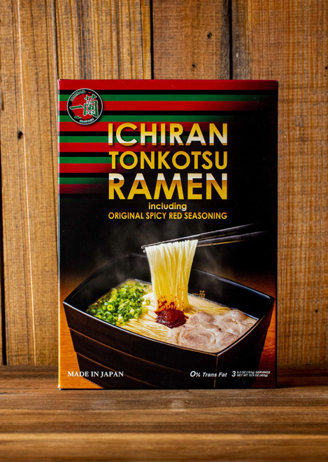 Front of ICHIRAN Take-Home Ramen Kit