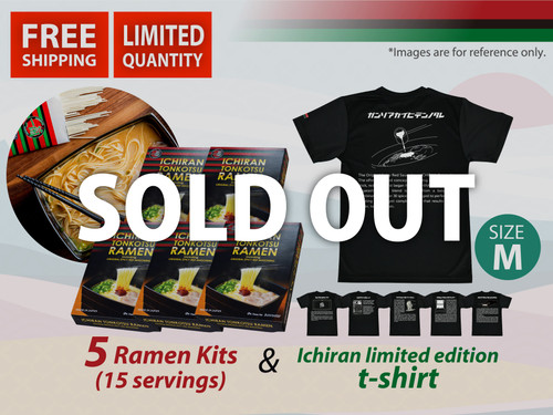 ICHIRAN T-Shirt Size M Sold Out