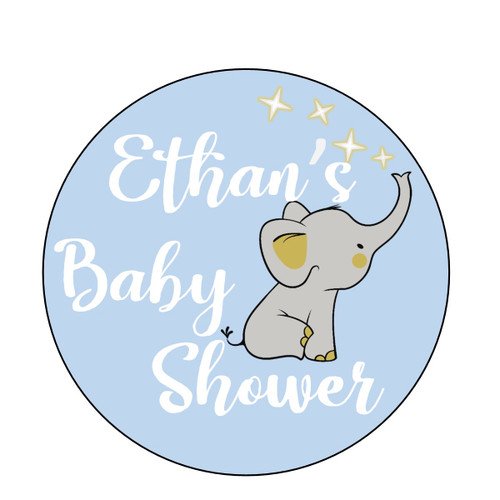 Baby Shower Elephant- Boy