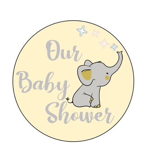 Baby Shower Elephant- Gender Neutral