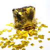 Gold Metallic Confetti - 17mm x 17mm - 1kg bag