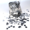 Silver Metallic Confetti - 17mm x 17mm - 1kg bag
