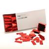 Red Metallic Confetti - 2cm x 5cm - 1kg box