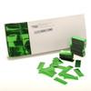 Green Metallic Confetti - 2cm x 5cm - 1kg box