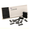 Black Tissue Confetti - 1/2kg box