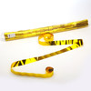Gold Metallic Streamers - 25mm x 7m - sleeve of 40