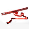Red Metallic Streamers - 25mm x 7m - sleeve of 40