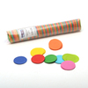 Multicolour Round Confetti - 200g tube