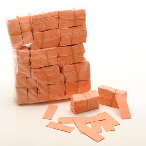 Peach Tissue Confetti - 1/2kg bag