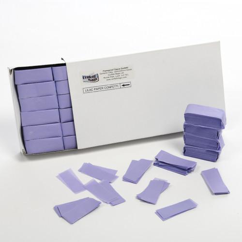 Lilac Tissue Confetti - 1/2kg box