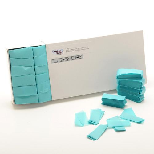 Turquoise Tissue Confetti - 1/2kg box