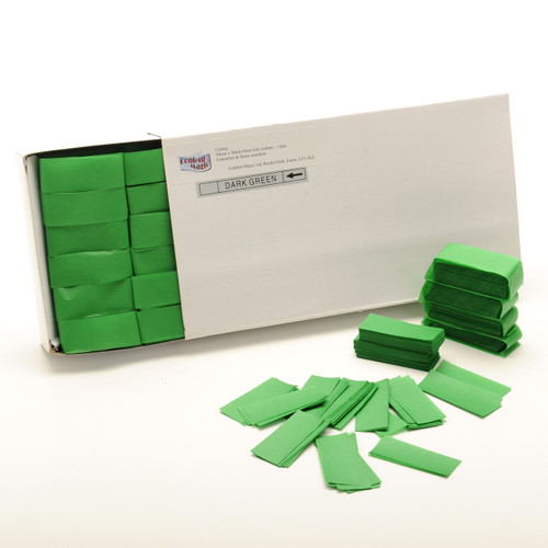 Green Tissue Confetti - 1/2kg box