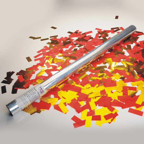 Large Confetti Cannon - Custom 50/50