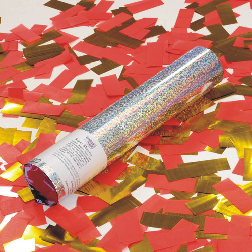 Small Confetti Cannon - Custom 50/50
