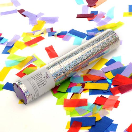 Small Confetti Cannon - Multicolour Tissue