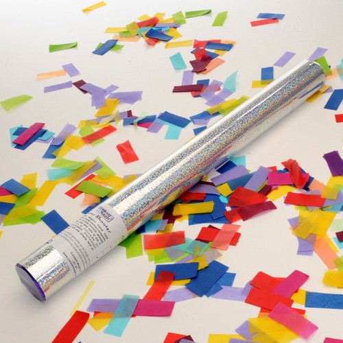 Medium Confetti Cannon - Multicolour Tissue