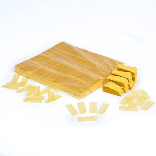 Yellow biofetti - 1kg bag