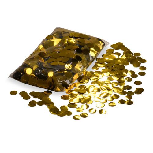 Balloon Confetti - Gold - 2cm Round - 1/2kg bag