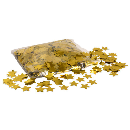 Gold Metallic Star Confetti - 1kg bag