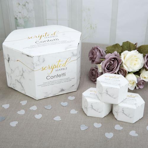 Scripted Marble - Tissue Confetti