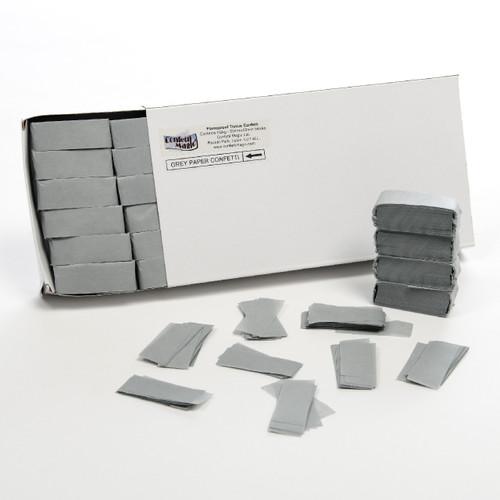 Grey Tissue Confetti - 1/2kg box